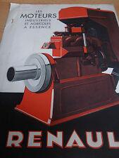 catalogue moteur RENAULT ( ref 5 )