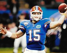 Florida Gator Tim Tebow Autographed 8x10 Photo (Reproduction)  1