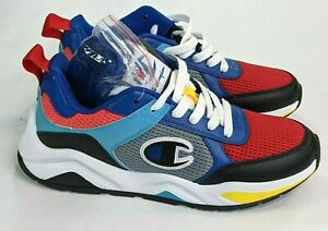 Champion Mens Sneakers Shoes 93 Eighteen SP Multi Color Block Size 8.5