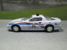 RCMP ROYAL CANADIAN MOUNTED POLICE  CHEVY CAMARO  1/59 SCALE DIE-CAST