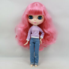 """Takara 12"""" Neo Blythe Roese Red Hair Joint body Nude Doll from Factory TBY219"""