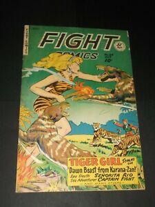 FIGHT COMICS #64 JACK KAMEN LAST BAKER ISSUE 1949 (Fine+/VF-)