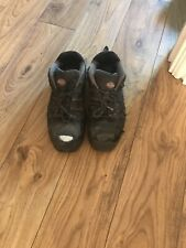 DICKIES Black MENS SAFETY WORK BOOTS STEEL TOE CAP MIDSOLE SIZE 9