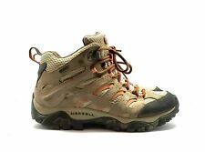 Merrell Women's Bungee Cord Waterproof Hiking Shoes Tan Size 8 Outdoor - [EUC]