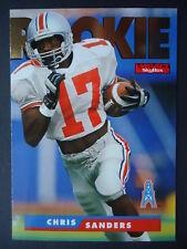 NFL 194 Chris Sanders Ohio State Rookie SkyBox 1995