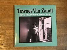 Townes Van Zandt 2 LP - Live at the Old Quarter, Houston, TX - Fat Possum 2009