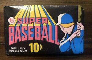 1971 Topps Super Baseball Wax Pack - Tough To Find - Great Looking Pack!!