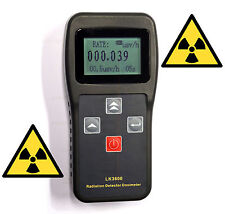Radioaktivitätsmessgerät, Geigerzähler, Dosimeter, LCD