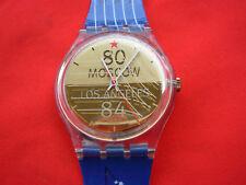 SWATCH SPECIAL OLYMPIC SEBASTIAN COE - GZ149 - 1996 ATLANTA