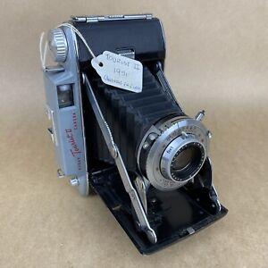 Kodak Tourist II 1951 Vintage Folding Camera W/ 105mm 4.5 Anaston - VERY CLEAN
