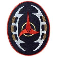 Star Trek The Next Gen Klingon Bat'Leth Insignia Patch