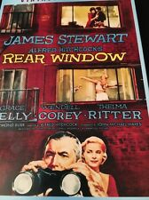 Rear Window (DVD) Hitchcock FAST SHIPPING Slip Cover NEW