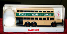 Wiking, Bus A 2 Tier of Berlin D38, New Box, 1/87, 873 01 26