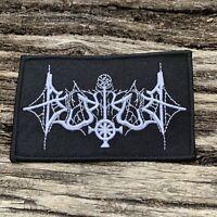Blutkult - Logo Aufnäher / Patch | Black Metal, Leichenzug,Totenburg,Permafrost