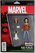 Monsters Unleashed #1 Vol 3 Action Figure Variant - Marvel Comics - Cullen Bunn