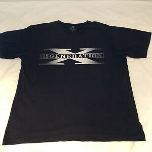 Wwe Dx D Generation X Tee Shirt Sixe Xl Wrestling Good Condition
