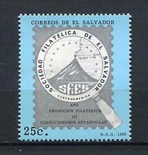 27330) EL SALVADOR 1989 MNH** Nuovi** Philately 1v