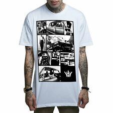 t-shirt Mafia rocker pray GOTHIK tatouage Death Before Dishonor Mafioso Clothing