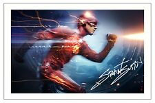 GRANT GUSTIN THE FLASH AUTOGRAPH SIGNED PHOTO PRINT POSTER