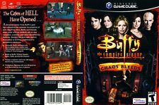 Buffy the Vampire Slayer Replacement Game Cube Box Art Case Insert Cover Scan