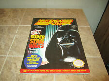 Nintendo Power Magazine Volume 42 -  Super Star Wars  w/Poster, cards, Inserts
