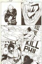 JSA: Classified #24 p.16 - Dr. Mid-Nite III vs Mircea - 2007 art by Alex Sanchez Comic Art