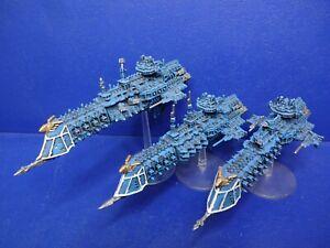RAR! 3 Imperial Cruiser für Battlefleet Gothic GUT BEMALT 2