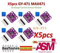 5pcs GY-471 3A Range Current Sensor Module Professional MAX471 Module