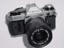 Canon AE-1 Program 35 mm SLR Film manuel appareil photo + Canon 35-70 mm F/3.5-4.5 FD Lens