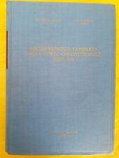 LI VECCHI / BOSCIA - GIURISPRUDENZA COMPLETA DELLA CORTE COSTITUZIONALE 1970-71