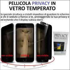 PELLICOLA PROTEGGI SCHERMO IN VETRO TEMPERATO PRIVACY PER APPLE IPHONE 6 7 / 6+