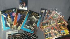 Star wars lot: vtg coloring books, cards, toy catilogs, postcard -see all pics