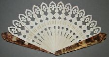 """1654 - 1954 celluloid hand fan - is it the period of """"Jewish Life in America""""?"""