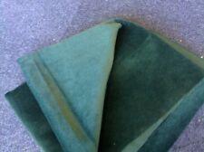 FAT QUARTER (50X70 cm) of  Quality Bottle Green Furnishing Velvet