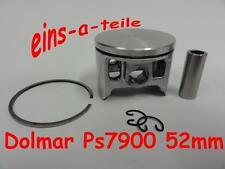 PISTONE adatto per DOLMAR ps7900 52mm Nuovo Qualità TOP