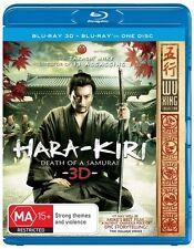 Hara Kiri - Death Of A Samurai 3D Blu-ray, 2013 New & Sealed