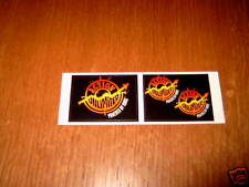 2 Aufkleber- Sticker: ACTION UNLIMITED - Powered by Mars