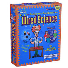 WIRED SCIENCE - HUMAN BODY ELECTRICITY EDUCATIONAL SCIENCE KIT BE AMAZING TOYS