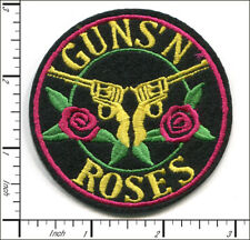 20 Pcs Embroidered Iron on patches Guns N Roses Metal Rock Band AP056nD