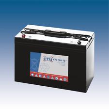 12V 100Ah CTM AGM-Batterie Longlife (Caravan, Boot- und Solarbatterie)