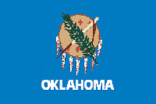 Rumbling Pride Oklahoma Flag 6X9 Made In Usa