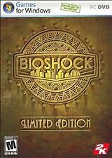 BioShock: Limited Edition (PC, 2007) Brand New Condition!!!!!!!!!!!!!!!!!!!!!!!!