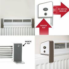 Low Power Radiator Fan Eco Energy Single Double Grill Top & Convention Heaters