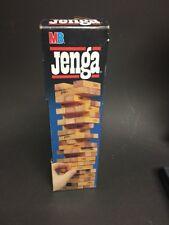Vintage 1986 Milton Bradley Jenga Game 54 Wooden blocks.4793
