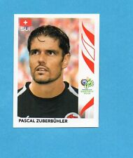 PANINI-GERMANY 2006-Figurina n.475- ZUBERBUHLER - SVIZZERA -NEW BLACK