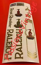 Kit Raleigh Roadster decalcomanie/adesivi/stickers