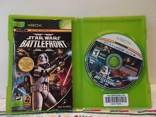 Xbox 360 Star Wars 2 II Battlefront Platinum Hits Complete Very Good Used Tested