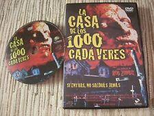 DVD LA CASA DE LOS 1000 CADAVERES ROB ZOMBIE USADO BUEN ESTADO
