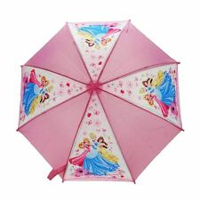 Officially Licensed Children's Disney Princess Characters Pink Stick Umbrella