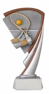 SONDERANGEBOT!!!  Tennis-Pokal (Resin) mit Wunschgravur (C803.02)